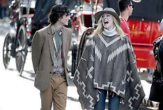Elle Fanning On Set Of Woody Allen Special Project - 26 Sep 2017
