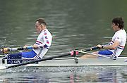 Hazewinkel. Belgium. Senior Trails.<br /> 14/04/2004  - 2004 GBR Rowing Trail<br /> Hazewinkel Belgium.<br /> John Warnock   [Mandatory Credit:peter SPURRIER/Intersport Images]