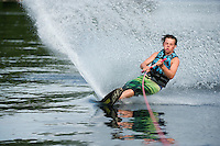Bradley family waterski adventure