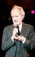 The MIT Awards Dinner 1999 .John Barry OBE receives the MIT Award at the Grosvenor Hotel.Friday, Oct.22, 1999 (Photo/John Marshall JME)