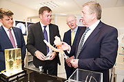 11/07/2017  REPRO FREE:   Dr Rick officer VP for research GMIT , Dr. Eugene McCarthy MET Technology Manager GMIT, Barry Egan Enterprise Ireland and Minister of State Pat Breen, Department of Enterprise and Innovation. Photo:Andrew Downes, xposure .