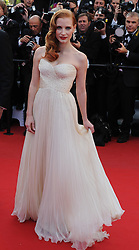 Jessica Chastain at the premiere of Madagascar 3 Europe's Most Wanted at the Cannes Film Festival, Friday, May 18th  2012. Photo by: Ki Price  / i-Images