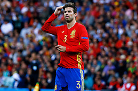 Gerard Pique Spain <br /> Toulouse 13-06-2016 Stade de Toulouse Footballl Euro2016 Spain - Czech Republic  / Spagna - Repubblica Ceca Group Stage Group D. Foto Matteo Ciambelli / Insidefoto