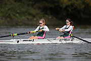 Crew: 93 - Couper / Hardwick - Auriol Kensington Rowing Club - W 2- Club <br /> <br /> Pairs Head 2020