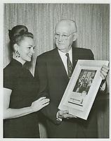 1964 June Lockhart & C.E. Toberman