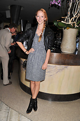MORWENNA LYTTON COBBOLD at a party to launch PRPS's new luxury denim line called Noir whilst raising money for UNICEF Japan, held at Nobu Berkeley Street, London on 5th September 2011.
