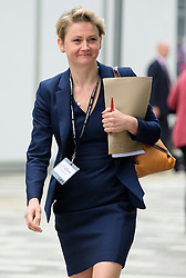© Licensed to London News Pictures. 28/09/2016. Liverpool, UK. YVETE COOPER MP seen arriving at day four of the Labour Party Annual Conference, held at the ACC in Liverpool, Merseyside, UK. Photo credit: Ben Cawthra/LNP