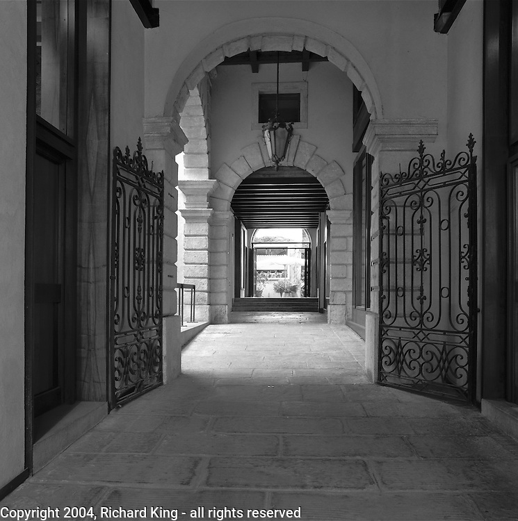Passageway To Courtyard, Old Town, Verona