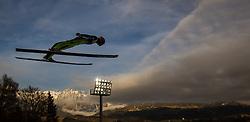 06.01.2014, Paul Ausserleitner Schanze, Bischofshofen, AUT, FIS Ski Sprung Weltcup, 62. Vierschanzentournee, Probesprung, im Bild Roberto Dellasega (ITA) // Roberto Dellasega (ITA) during Trial Jump of 62nd Four Hills Tournament of FIS Ski Jumping World Cup at the Paul Ausserleitner Schanze, Bischofshofen, Austria on 2014/01/06. EXPA Pictures © 2014, PhotoCredit: EXPA/ JFK