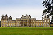 Blenheim Palace home of Duke of Marlborough, birthplace of Sir Winston Churchill, built 1705 Architect Vanbrugh
