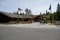 Itasca State Park Headquarters. Mississippi River Headwaters. Image taken with a Nikon D200 camera and 18-80 mm kit lens.