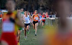 08-12-2013 ATHLETICS: SPAR EC CROSS COUNTRY: BELGRADE<br /> Khalid Choukoud is bij het EK Cross er niet in geslaagd om op het podium te komen. Op grote afstand van de winnaar kwam hij binnen.<br /> ©2013-WWW.FOTOHOOGENDOORN.NL