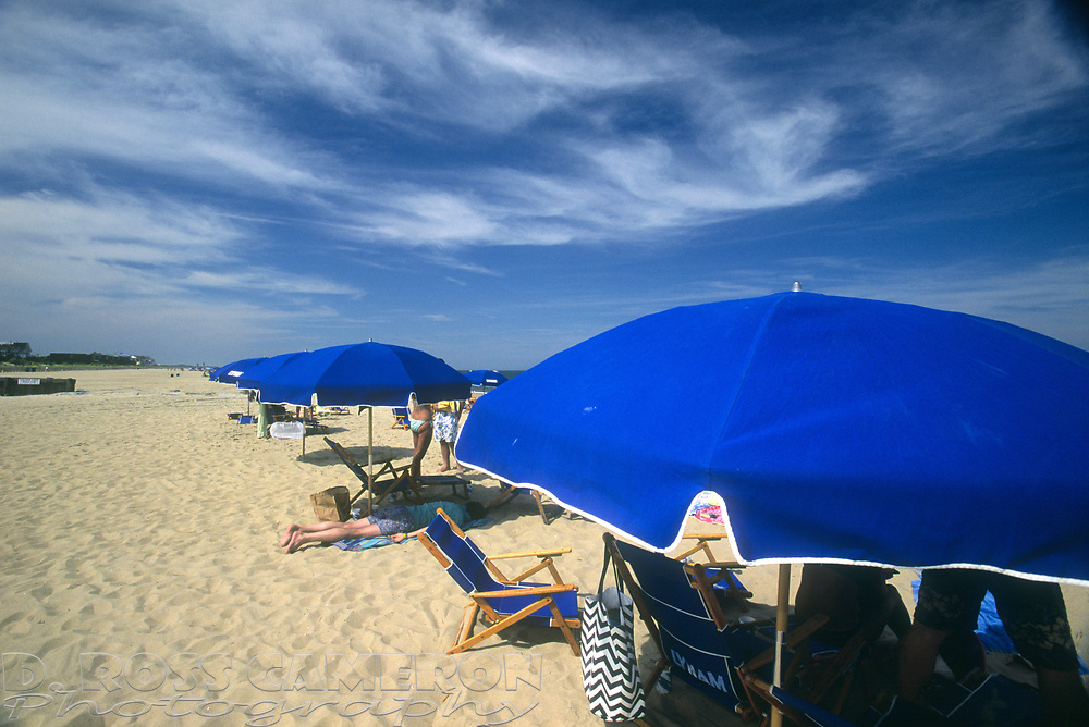 Beach scene at Henlopen Acres Beach Club, Saturday, July 27, 2013 in Rehoboth Beach, Del. (Photo by D. Ross Cameron)