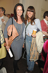 Left to right, TRICIA SIMONON and KIM SION at a lunch in aid of African Solutions To African Problems held at Il Bottaccio, 9 Grosvenor Place, London on 20th May 2008.<br /><br />NON EXCLUSIVE - WORLD RIGHTS