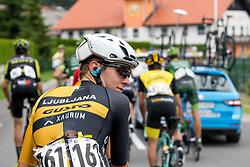 Tadej Pogacar of Ljubljana Gusto Xaurum during 3rd Stage of 25th Tour de Slovenie 2018 cycling race between Slovenske Konjice and Celje (175,7 km), on June 15, 2018 in  Slovenia. Photo by Vid Ponikvar / Sportida