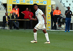 Kobamelo Kodisang in the MTN8 semi-final first leg match between Cape Town City and Bidvest Wits at the Cape Town Stadium on Sunday 27 August 2017.