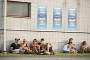 Photos of crowd atmosphere during the Billboard Hot 100 Music Festival at Nikon at Jones Beach Theatre in Wantagh, NY. August 23, 2015. Copyright © 2015. Matthew Eisman. All Rights Reserved