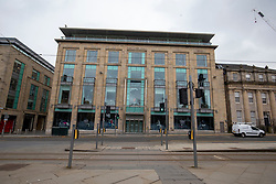 Harvey Nichols. Edinburgh city centre on Tuesday 25th March, after the Lockdown.