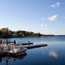 Moosehead Lake from Greenville Maine USA