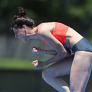 Ruth Beitia, Spain, winning the Women's High Jump competiton with a jump of 1.97m during the Diamond League Adidas Grand Prix at Icahn Stadium, Randall's Island, Manhattan, New York, USA. 13th June 2015. Photo Tim Clayton