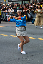 California: San Francisco Carnaval festival parade in the Mission District. Photo copyright Lee Foster. Photo # 30-casanf81381