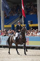 De Brabander Karline (BEL) - Fantomas de Muze <br /> Sires of the World<br /> FEI World Breeding Jumping Championships for Young Horses - Lanaken 2014<br /> © Dirk Caremans
