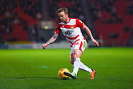 James Coppinger of Doncaster Rovers (26) in action during the EFL Sky Bet League 1 match between Doncaster Rovers and Southend United at the Keepmoat Stadium, Doncaster, England on 12 February 2019.