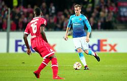 Rob Holding of Arsenal - Mandatory by-line: Robbie Stephenson/JMP - 23/11/2017 - FOOTBALL - RheinEnergieSTADION - Cologne,  - Cologne v Arsenal - UEFA Europa League Group H