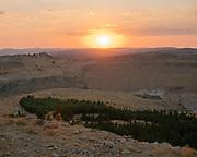 View over the plains of Mesopotamia.