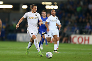 Luke Ayling of Leeds Utd in action.EFL Skybet championship match, Cardiff city v Leeds Utd at the Cardiff city stadium in Cardiff, South Wales on Tuesday 26th September 2017.<br /> pic by Andrew Orchard, Andrew Orchard sports photography.