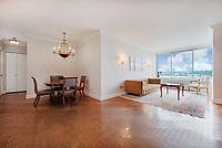 Living Room at 200 Riverside Boulevard