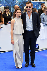 Francis Boulle and guest attending the European premiere of Valerian and the City of a Thousand Planets at Cineworld in Leicester Square, London