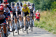 Geraint Thomas (GBR - Team Sky) yellow jersey during the 105th Tour de France 2018, Stage 18, Trie sur Baise - Pau (172 km) on July 26th, 2018 - Photo Luca Bettini / BettiniPhoto / ProSportsImages / DPPI