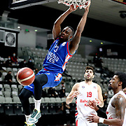 Bahcesehir Koleji 's and Anadolu Efes's James Anderson during their Turkish Basketball ING Super League match Bahçeşehir Koleji; Bahcesehir Koleji between Anadolu Efes at the Akatlar Sports Hall in Istanbul, Turkey, Sunday 31, January 2021. Photo by Aykut AKICI/TURKPIX