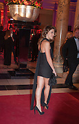 FRANCESCA VERSACE; Hollywood Costume gala dinner, V and A. London. 16 October 2012