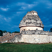 Temple El Caracol at Uxmal.