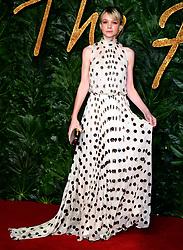 Carey Mulligan attending the Fashion Awards in association with Swarovski held at the Royal Albert Hall, Kensington Gore, London.