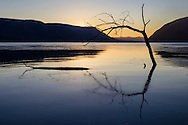 New Windsor, New York - A view of the Hudson River from Plum Point before dawn on Jan. 1, 2015.