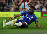 Football - 2018/ 2019 Premier League - Chelsea vs Burnley<br /> <br /> Callum Hudson - Odoi of Chelsea goes down injured at Stamford Bridge<br /> <br /> Colorsport  / Andrew Cowie