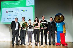 Best athletes during Slovenian Disabled Sports personality of the year 2017 event, on December 6, 2017 in Austria Trend Hotel, Ljubljana, Slovenia. Photo by Vid Ponikvar / Sportida