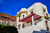 France, Pyrénées-Atlantiques (64), Pays Basque, Biarritz, villa rue Loison Bobet // France, Pyrénées-Atlantiques (64), Basque Country, Biarritz, villa rue Louison Bobet