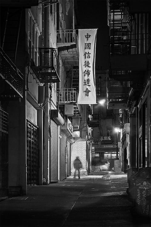 Chinatown Alley #1, Chinatown, San Francisco, CA