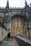 The Convent of Jesus Christ at Tomar in the Center of Portugal. Built in the 12 th Century by the Poor Knights of Jesus Christ (the Templars), with strong influence from Jerusalem's religious buildings from the time of Crusades, as the Temple of the Rock.Paulo Cunha/4see