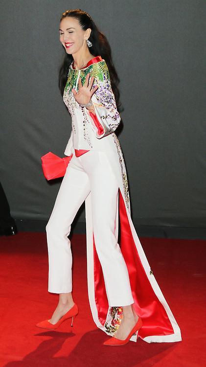 L'Wren Scott, British Fashion Awards, Coliseum, London UK, 02 December 2013, Photo by Richard Goldschmidt