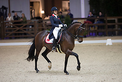 Uzunhasan Lina, (TUR), Donna Ray<br /> Juniors Freestyle Test<br /> CDI 4* Azelhof Lier 2015<br /> © Hippo Foto - Leanjo de Koster