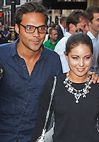LONDON - July 01: Andy Jordan & Louise Thompson at the A Curious Night at the Theatre - Gala Evening (Photo by Brett D. Cove)