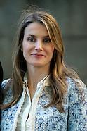 052713 prince Felipe and princess Letizia national library