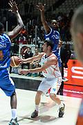 DESCRIZIONE : Bologna campionato serie A 2013/14 Acea Virtus Roma Enel Brindisi <br /> GIOCATORE : Lorenzo D'Ercole<br /> CATEGORIA : passaggio difesa<br /> SQUADRA : Acea Virtus Roma<br /> EVENTO : Campionato serie A 2013/14<br /> GARA : Acea Virtus Roma Enel Brindisi<br /> DATA : 20/10/2013<br /> SPORT : Pallacanestro <br /> AUTORE : Agenzia Ciamillo-Castoria/GiulioCiamillo<br /> Galleria : Lega Basket A 2013-2014  <br /> Fotonotizia : Bologna campionato serie A 2013/14 Acea Virtus Roma Enel Brindisi  <br /> Predefinita :