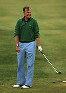 President George Bush (Bush 41) plays golf at  Arundell Country Club...Photograph by Dennis Brack bb 27