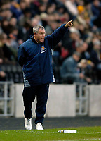 Photo: Jed Wee.<br />Hull City v Cardiff City. Coca Cola Championship.<br />03/12/2005.<br />Hull manager Peter Taylor.